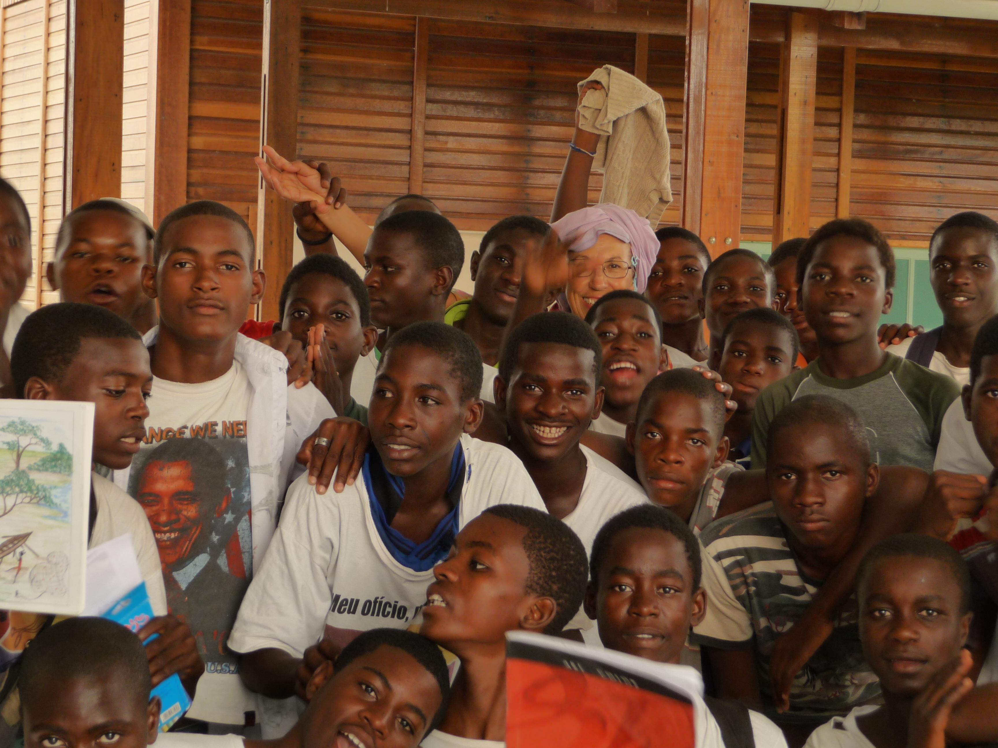 Ragazzi Angola Muxima