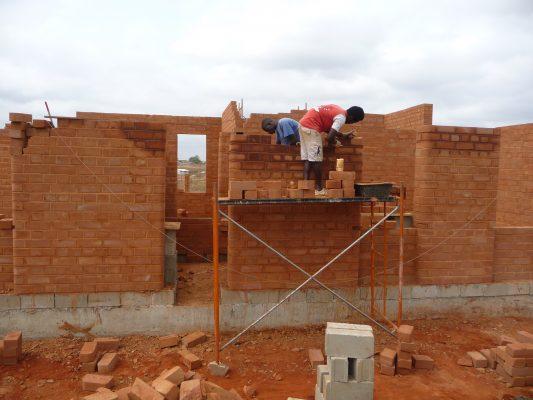 costruzione casa di Federico e Anna