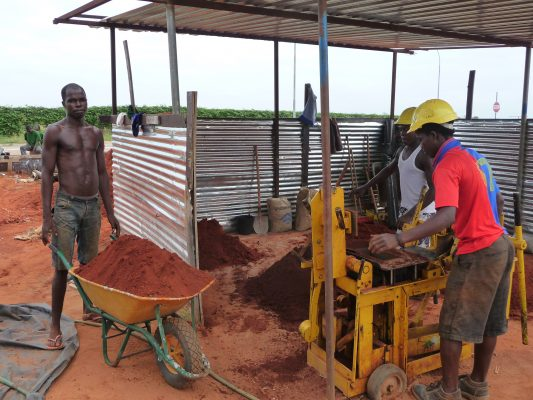 costruzione mattoni per casa